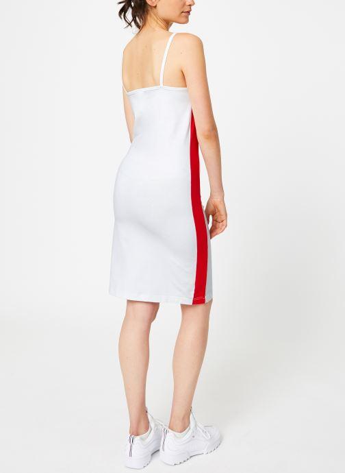 Vêtements Reebok CL V P Dress Blanc vue portées chaussures
