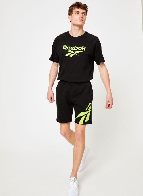 Kläder Reebok CL V P FL Shorts Svart bild från under