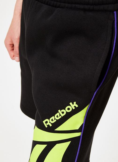 Kläder Reebok CL V P FL Shorts Svart bild från framsidan