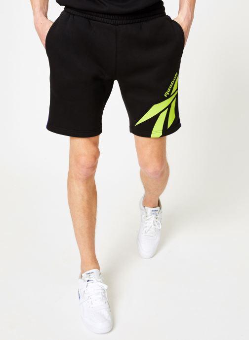 Kläder Reebok CL V P FL Shorts Svart detaljerad bild på paret