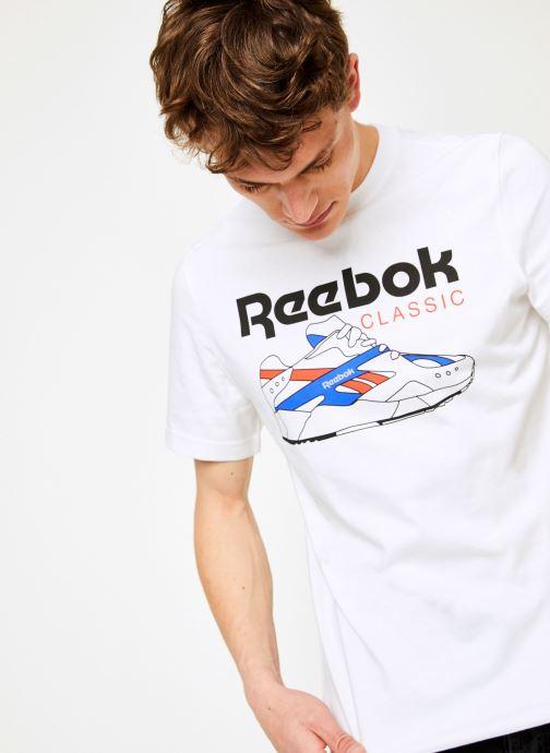 Kleding Reebok CL T-Shirts Wit detail