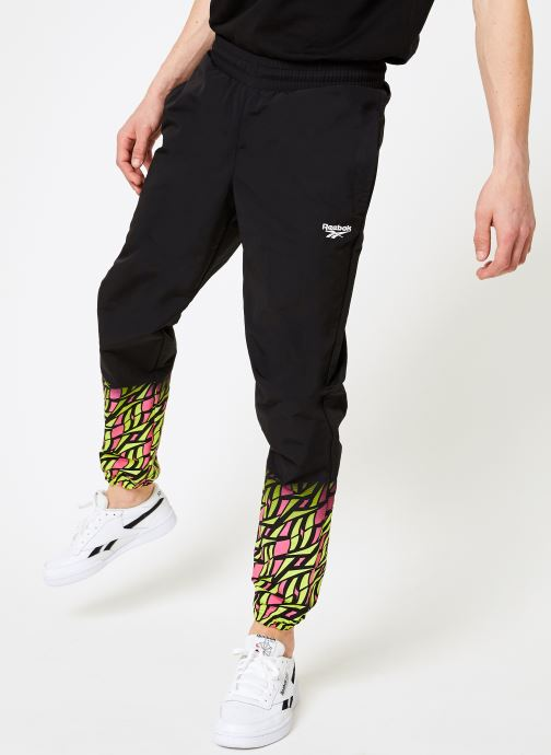 Vêtements Reebok CL V Hyper-GR Trackpant Noir vue détail/paire