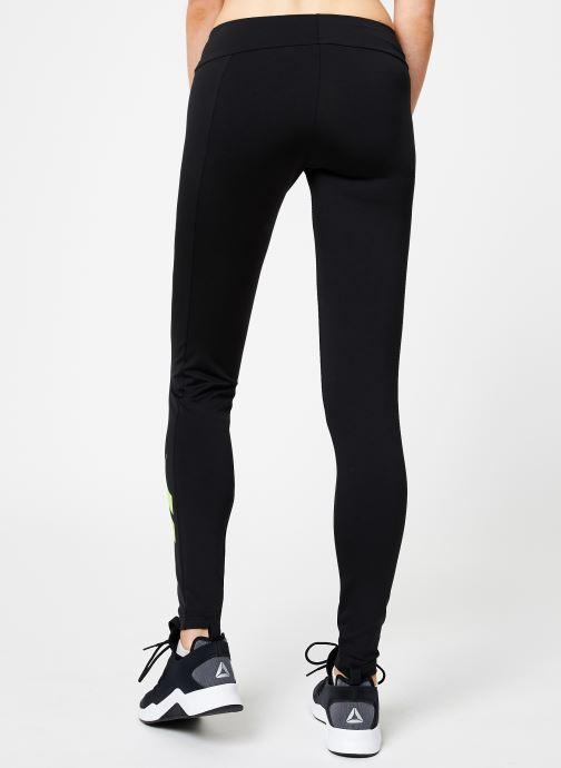 Vêtements Reebok CL V P Legging Version Noir vue portées chaussures
