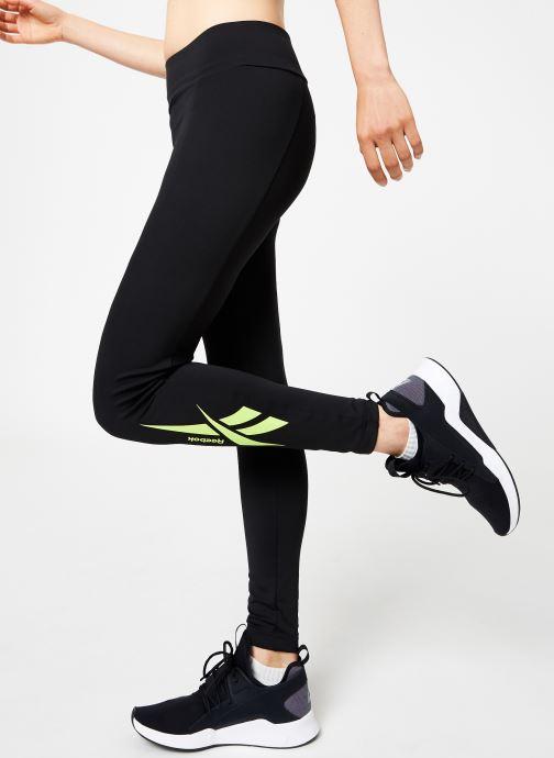 Vêtements Reebok CL V P Legging Version Noir vue détail/paire