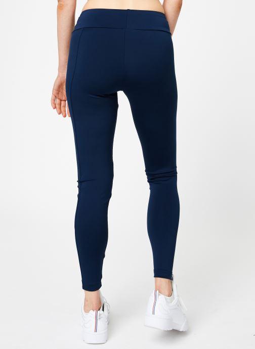 Vêtements Reebok CL V P Legging Version Bleu vue portées chaussures