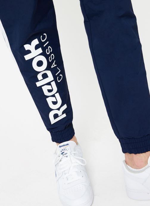 Vêtements Reebok CL Track Pant Bleu vue face
