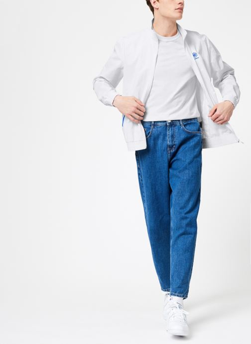 Vêtements Reebok CL Track Top Blanc vue bas / vue portée sac