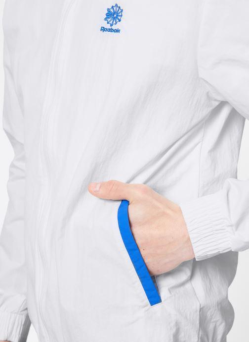 Vêtements Reebok CL Track Top Blanc vue face