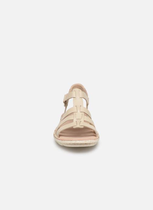 Sandales et nu-pieds Clarks BLAKE JEWEL Blanc vue portées chaussures