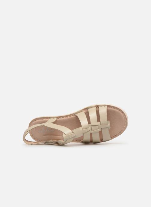 Sandali e scarpe aperte Clarks BLAKE JEWEL Bianco immagine sinistra