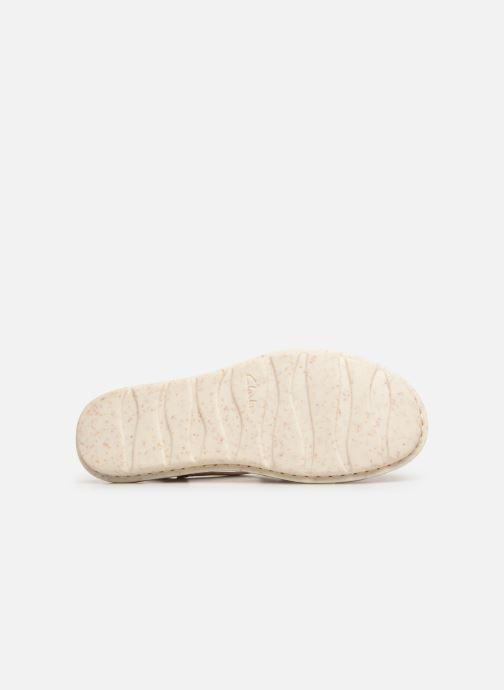 Sandali e scarpe aperte Clarks BLAKE JEWEL Bianco immagine dall'alto