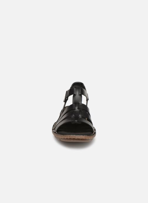 Sandalen Clarks BLAKE JEWEL schwarz schuhe getragen