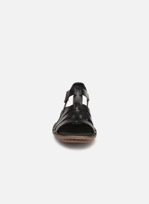Sandali e scarpe aperte Clarks BLAKE JEWEL Nero modello indossato