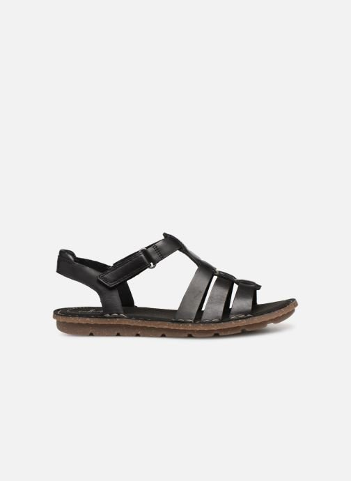 Sandals Clarks BLAKE JEWEL Black back view