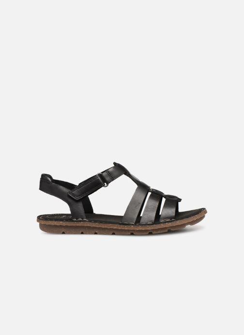 Sandales et nu-pieds Clarks BLAKE JEWEL Noir vue derrière