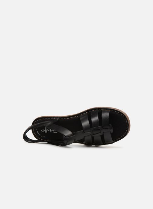 Sandals Clarks BLAKE JEWEL Black view from the left