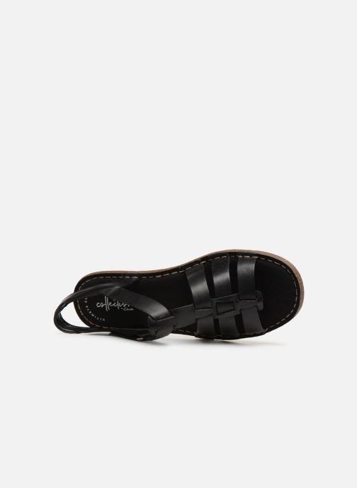 Sandales et nu-pieds Clarks BLAKE JEWEL Noir vue gauche