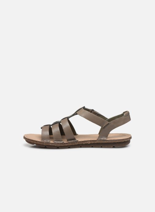 Sandales et nu-pieds Clarks BLAKE JEWEL Vert vue face