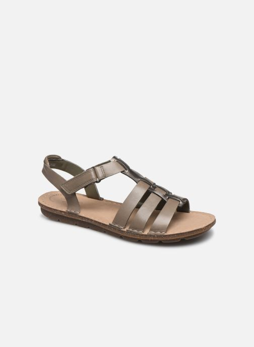 Sandales et nu-pieds Clarks BLAKE JEWEL Vert vue détail/paire