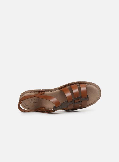 Sandales et nu-pieds Clarks BLAKE JEWEL Marron vue gauche