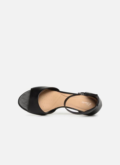 Sandales et nu-pieds Clarks LAURETI GRACE Noir vue gauche