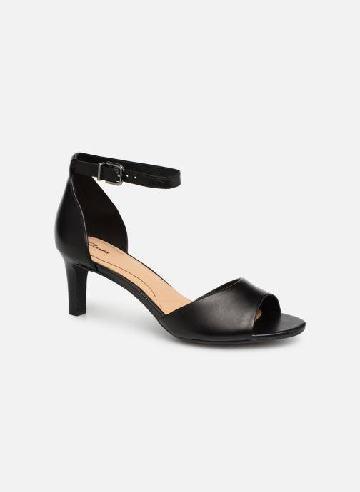 Sandaler Clarks LAURETI GRACE Sort detaljeret billede af skoene