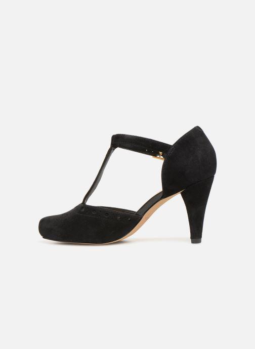 High heels Clarks DALIA LEAH Black front view