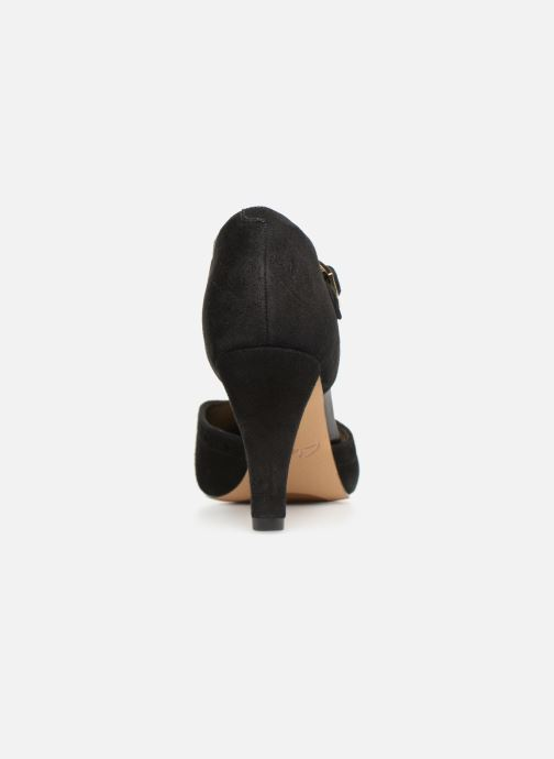 High heels Clarks DALIA LEAH Black view from the right