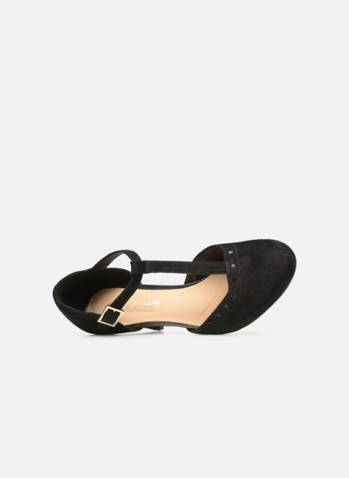 High heels Clarks DALIA LEAH Black view from the left