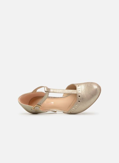 Pumps Clarks DALIA LEAH gold/bronze ansicht von links