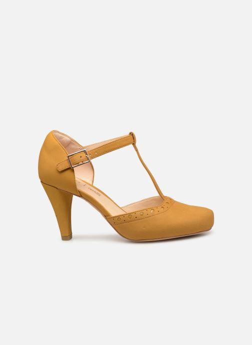 High heels Clarks DALIA LEAH Yellow back view