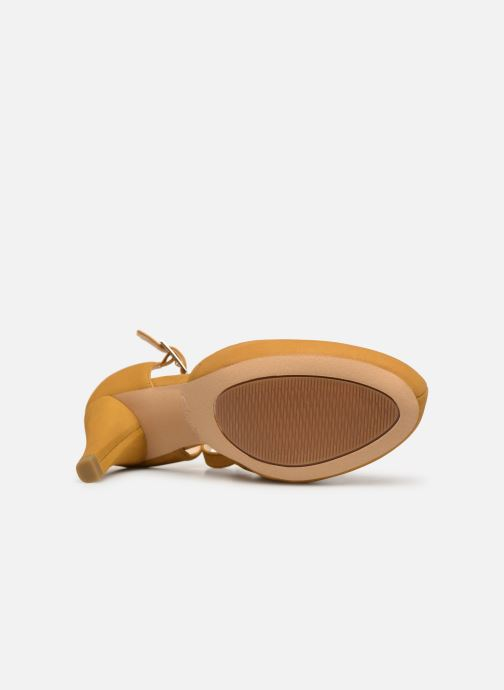 High heels Clarks DALIA LEAH Yellow view from above