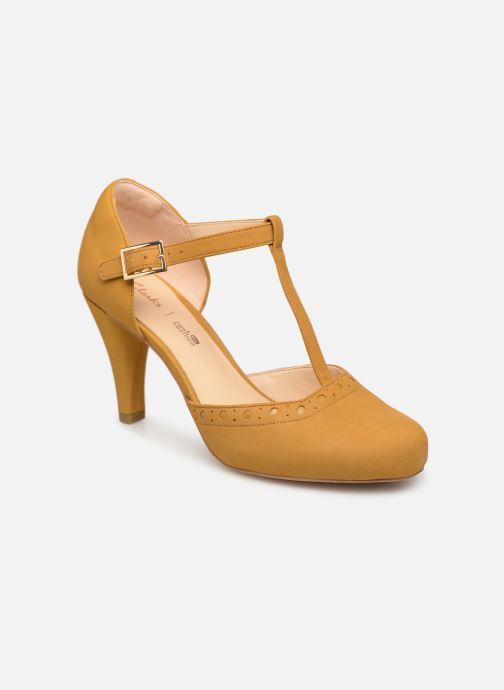 High heels Clarks DALIA LEAH Yellow detailed view/ Pair view