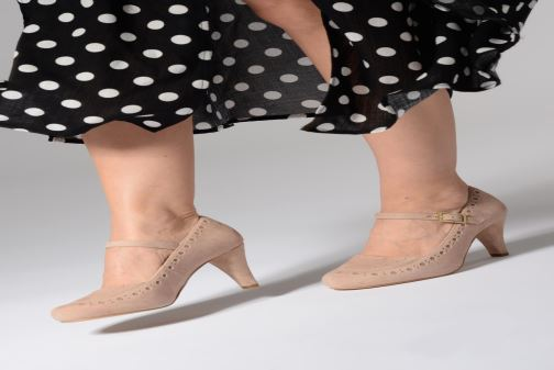 Zapatos de tacón Clarks DALIA MILLIE Negro vista de abajo