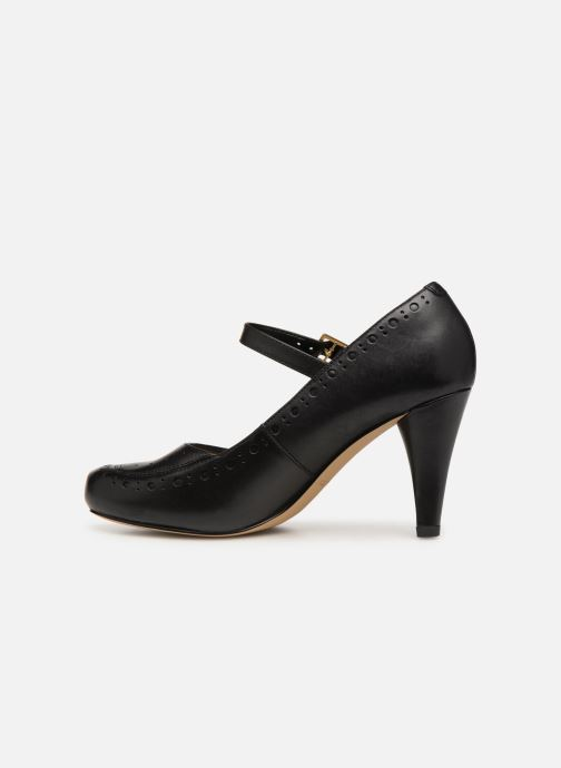 High heels Clarks DALIA MILLIE Black front view