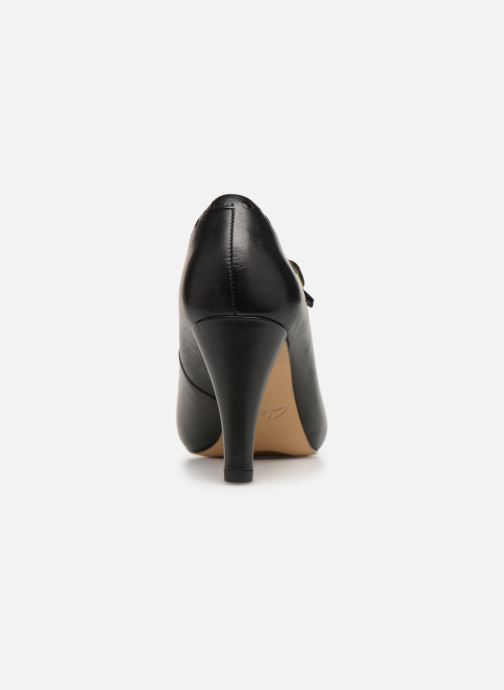 High heels Clarks DALIA MILLIE Black view from the right