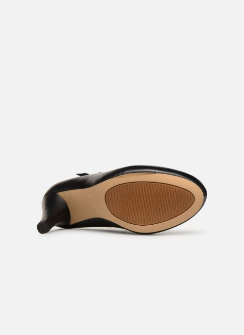 Zapatos de tacón Clarks DALIA MILLIE Negro vista de arriba
