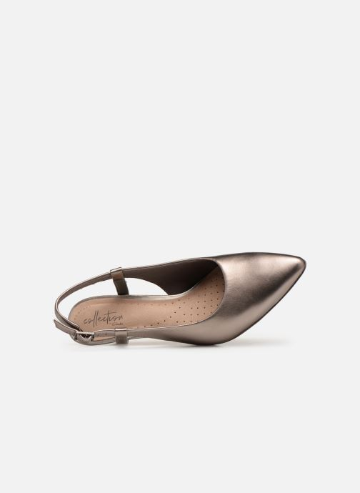 Pumps Clarks LINVALE LOOP Goud en brons links