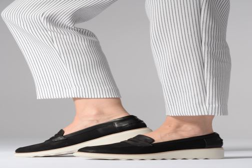 Loafers Clarks SHARON RANCH Beige view from underneath / model view