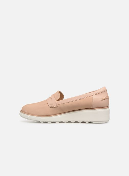Loafers Clarks SHARON RANCH Beige front view