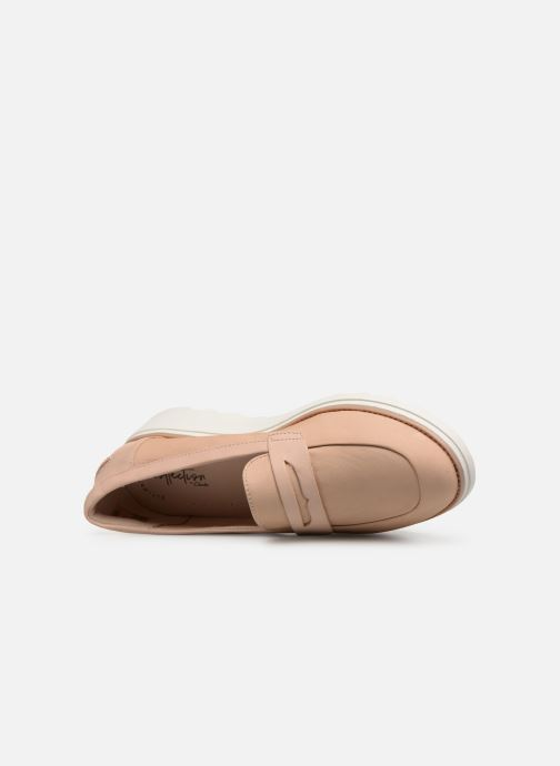 Loafers Clarks SHARON RANCH Beige view from the left