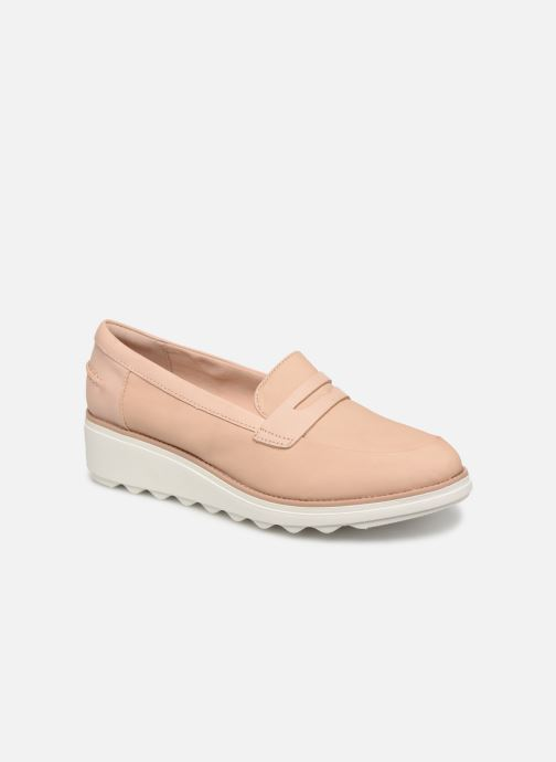 Loafers Clarks SHARON RANCH Beige detailed view/ Pair view