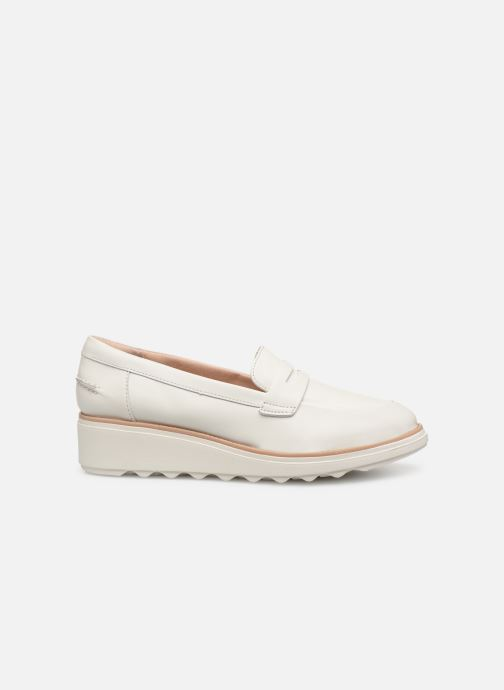Loafers Clarks SHARON RANCH White back view