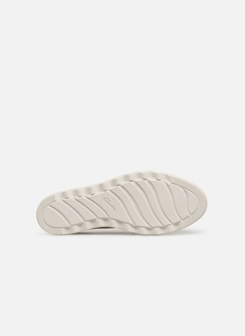 Loafers Clarks SHARON RANCH White view from above