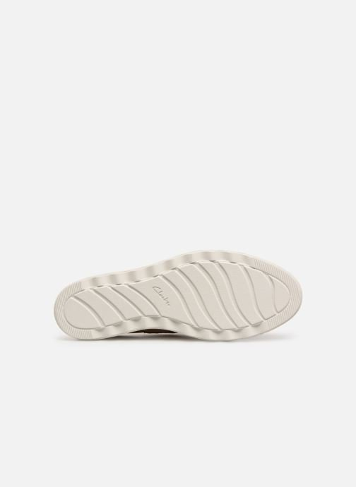 Zapatos con cordones Clarks SHARON CRYSTAL Beige vista de arriba