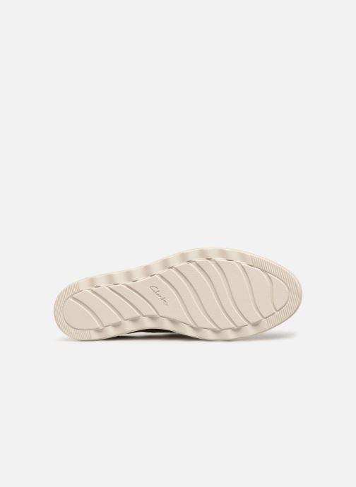 Zapatos con cordones Clarks SHARON CRYSTAL Plateado vista de arriba