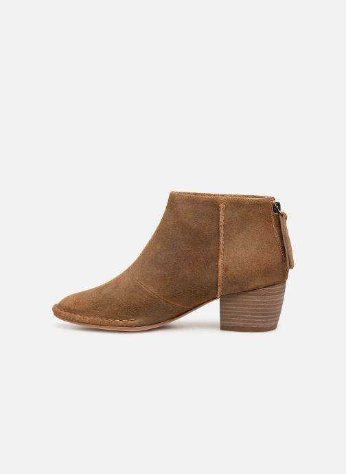 Bottines et boots Clarks SPICED RUBY Marron vue face