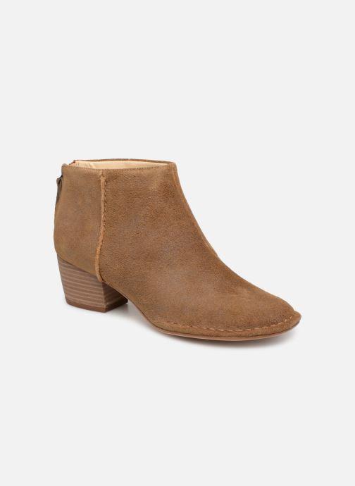 Bottines et boots Clarks SPICED RUBY Marron vue détail/paire