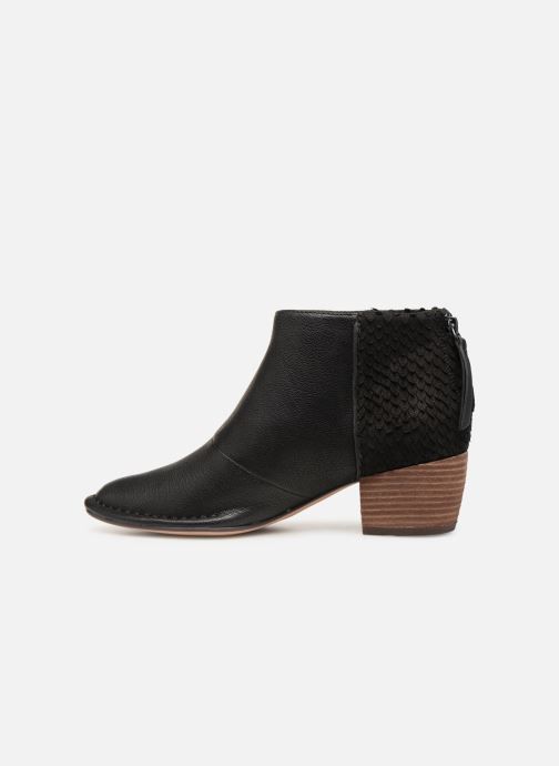 Boots en enkellaarsjes Clarks SPICED RUBY Zwart voorkant