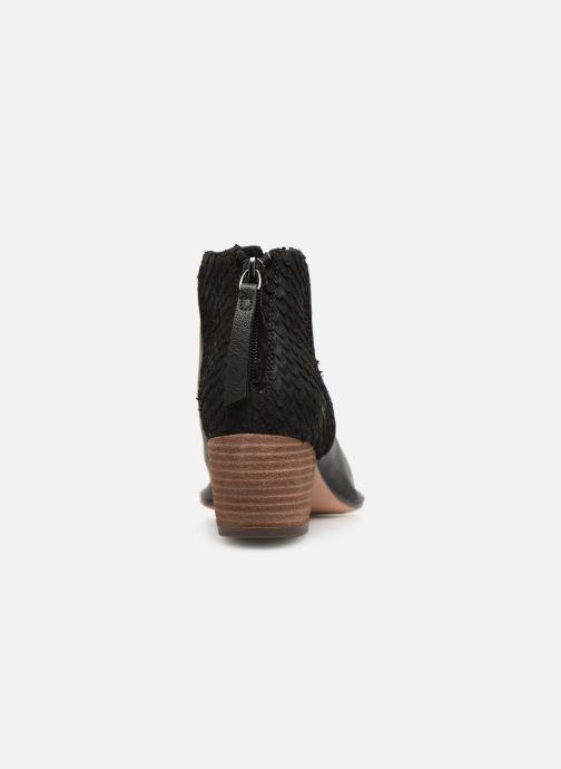 Boots en enkellaarsjes Clarks SPICED RUBY Zwart rechts